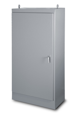 NEMA 12 Freestanding Single Door Enclosure - left