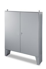 NEMA 12 Double Door Enclosure - left