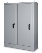 Type 12 Double Door Freestanding Enclosure for Flange Mounted Disconnect - left