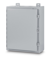 NEMA 12 Single Door Enclosure - left