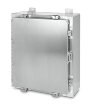 NEMA 4X Aluminum Enclosure - left