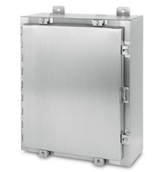 NEMA 4X Stainless Steel Enclosure - left