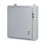 Type 12 Single Door Enclosure for Flange Mounted Disconnect - left