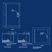 Type 1 Telephone Cabinets-Engineering Drawing